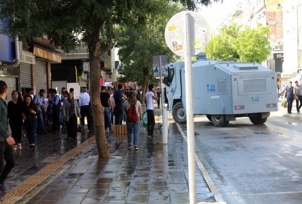 HDP mitingi sonrası gerginlik!