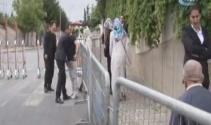 Cumhurbaşkanı Erdoğanın oy kullanacağı okulda yoğun güvenlik önlemi