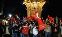 Cumhurbaşkanı Erdoğanın zaferi yurt dışında da coşkuyla kutlandı