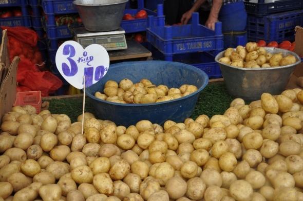 Patates,Soğan siyaseti iş yapmadı