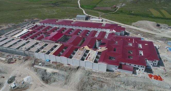 FETÖcüler için yapılan cezaevinde son durum havadan görüntülendi