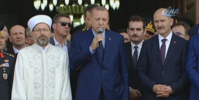 Cumhurbaşkanı Erdoğan: 'Terörü ayaklarımızın altına alarak yok edeceğiz'