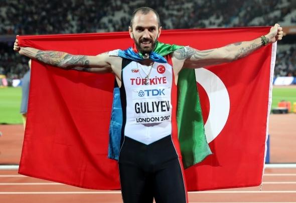 Ramil Guliyev 35 yıllık rekoru kırdı, altın madalyayı aldı!