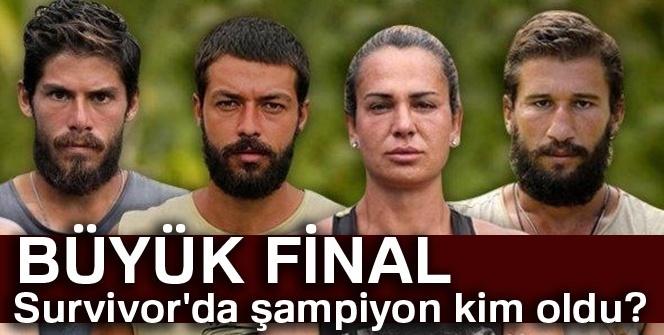 Survivor'da şampiyon KİM oldu? |(Survivor Kim ELENDİ, Kim GİTTİ?)