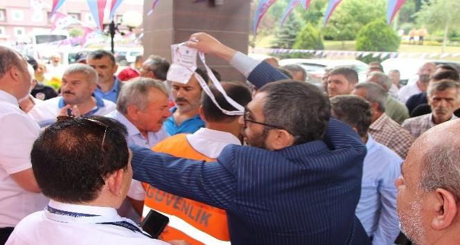 Trabzonspor Olağanüstü Genel Kurulu'nda öncesi gerginlik
