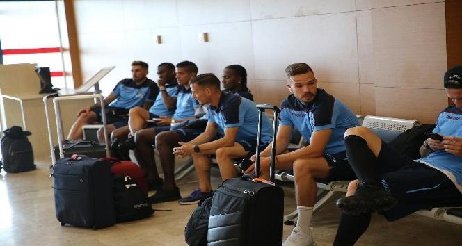 Trabzonspor 1-24 Temmuz tarihleri arasında yapacağı kamp  için Slovenya'ya gitti