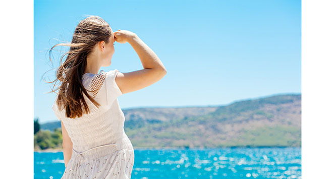 Yaz hamilelerine sağlıklı tatil için uyarılar