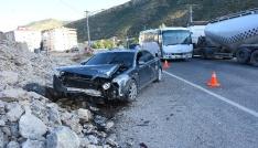 Gümüşhanede trafik kazası: 3ü çocuk 7 yaralı