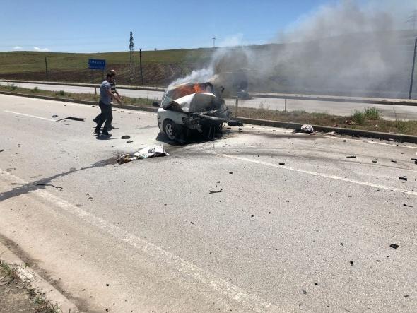Sivas'ta feci kaza! Ölenlerin kimlikleri belli oldu