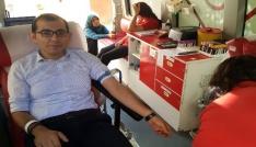 Gümüşhane İl Özel İdaresi çalışanlarından kan bağışı