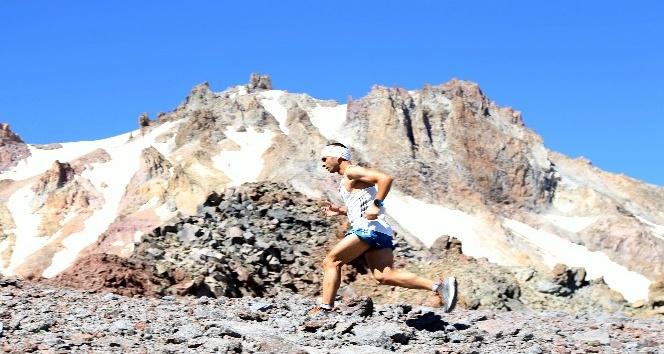 Uluslararası Erciyes Dağ Maratonu başladı