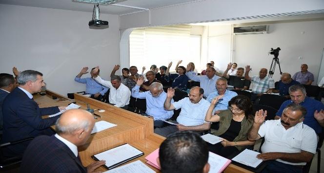 Temmuz ayı meclis toplantıları tamamladı