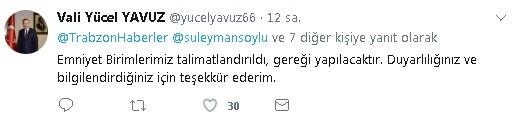 Sosyal medyada paylaşılan ateş etme görüntüleri Vali Yavuz'u harekete geçirdi