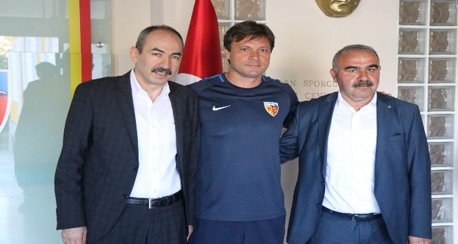 """Başkan Gülsoy: """"Kayserispor şehrimiz için önemli bir değer"""""""