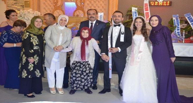 TBMM Çevre Komisyonu Başkanı Balta'nın yeğeni evlendi