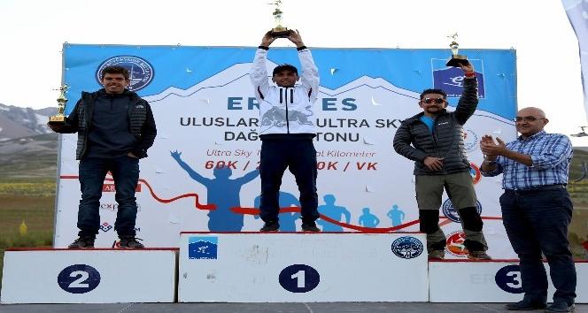 Uluslararası Erciyes Ultra Dağ Maratonu Tamamlandı