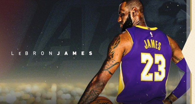 LeBron James resmen Los Angeles Lakersta