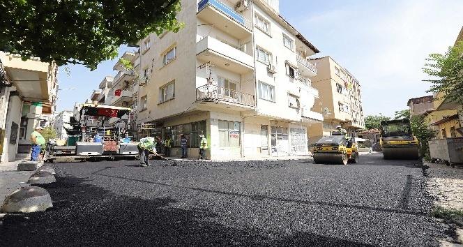 Buca sokakları yenileniyor