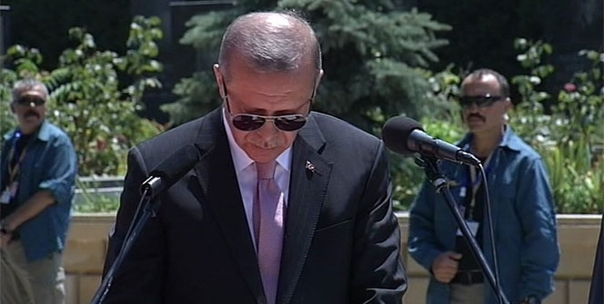 Cumhurbaşkanı Erdoğan Azerbaycan'da!
