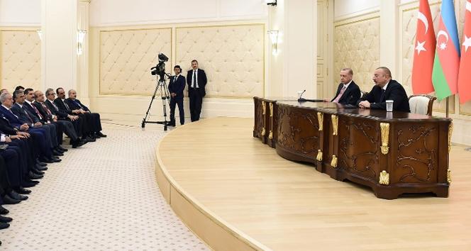 Başkan Erdoğan'dan ilk ziyaret Azerbaycan'a