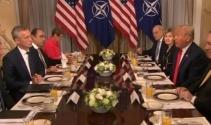 Trump ve Stoltenberg kahvaltıda bir araya geldi