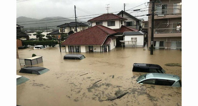 Japonyadaki sel felaketinde ölü sayısı artıyor!