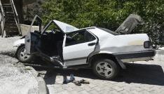 Gümüşhanede trafik kazası: 1 ölü, 6 yaralı