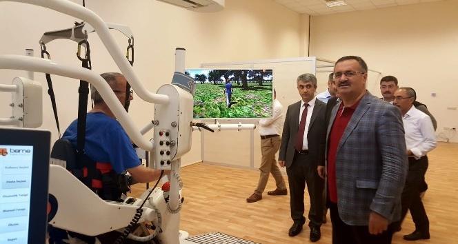 Başkan Güney'den İzzet Baysal Fizik Tedavi ve Rehabilitasyon Eğitim ve Araştırma Hastanesine ziyaret
