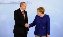 Başkan Erdoğan-Merkel görüşmesi