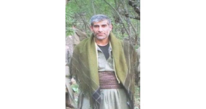 İçişleri Bakanlığı, kırmızı kategoride yer alan PKK/KCK terör örgütünün sözde Garzan eyaleti sorumlusu