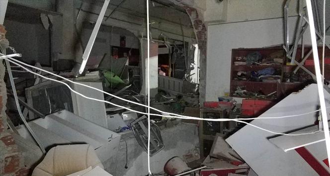Ortalığı savaş alanına çeviren patlamanın sebebi belirlendi