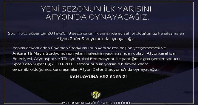 (Özel Haber) MKE Ankaragücü taraftarından stat tepkisi