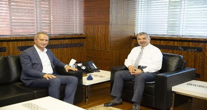 İl Milli Eğitim Müdürü Ekinci Başkan Çelik'i ziyaret etti
