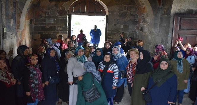 Malatya'nın kadın meclisi üyeleri Trabzon'u gezdi