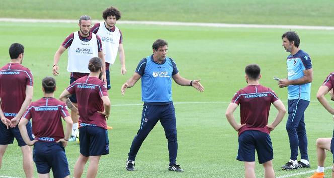 Trabzonspordan taktik ağırlılı çalışma