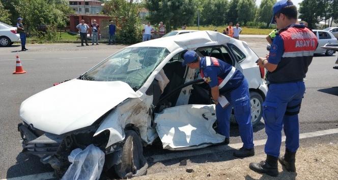 Samsunda trafik kazası: 2 ölü, 2 yaralı!