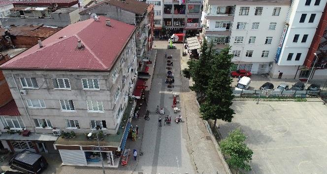 Yeni Mahalle'nin sokakları modern görünüme kavuşuyor