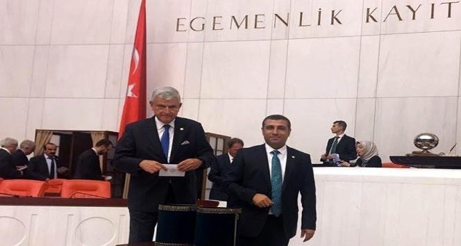 MHP'Li vekilden Binali Yıldırım'a kutlama