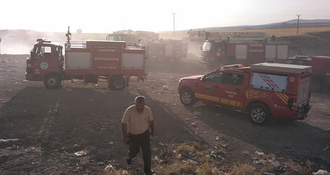 Felahiyede 500 dekar alan yanarak kül oldu