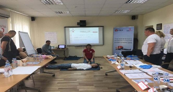 Moldova Emniyetine ilk yardım eğitimi
