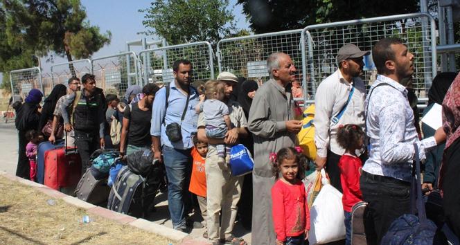 37 bin Suriyeli Türkiyeye dönüş yaptı
