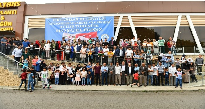 Ortahisar Belediyesi göçmenlere kardeşlik elini uzattı