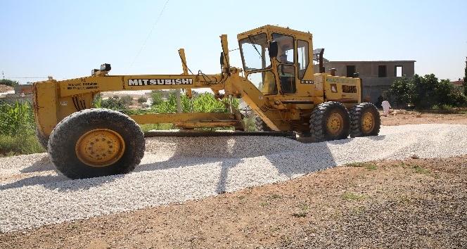 Haliliye Belediyesi, yol yapım çalışmalarıyla kırsalın çehresini değiştiriyor