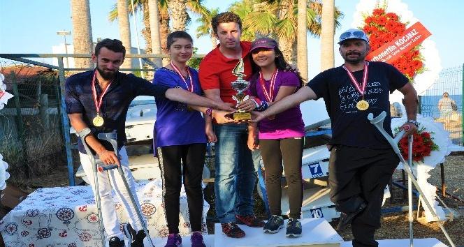 Kdz. Ereğlili bedensel engelli yelkenci Türkiye birincisi oldu