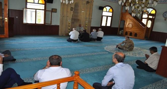Şehit Jandarma Samet Akdeniz anızına mevlit okutuldu