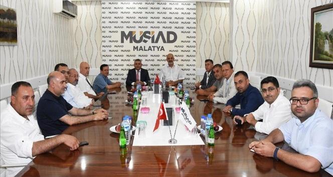 Sadıkoğlu'ndan Malatya ekonomisi için işbirliği vurgusu