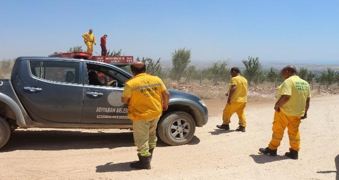 Orman yangını ihbarı ekipleri alarma geçirdi