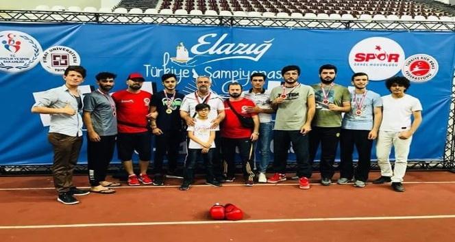 Malatya Büyükşehir Belediyespor Kickboks sporcuları Elazığ'dan dereceyle döndü