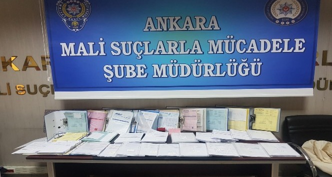 Ankara'da dev operasyon: 2.5 milyar TL değerinde 'naylon fatura' ele geçirildi