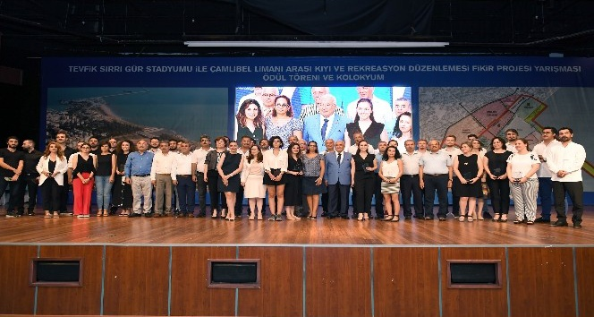 Kıyı ve Rekreasyon Düzenlemesi'ne ilişkin yarışma sonuçlandı